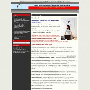 Cabinet psihologic sector 3 testare port arma, testare auto