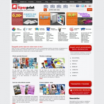 Website pentru firma SC KONEKTICA ADVERTISING SRL