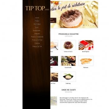Website pentru firma Sc TIP TOP FOOD INDUSTRY SRL