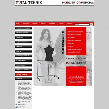 Website pentru firma Total Tehnic
