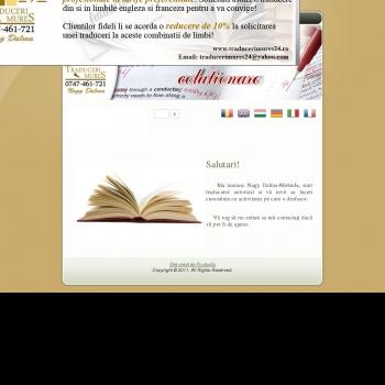 Website pentru firma PFA Nagy Dalma