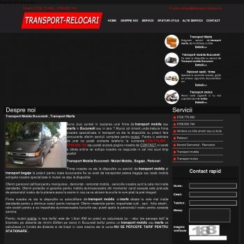 Transport Mobila , marfa , Relocari