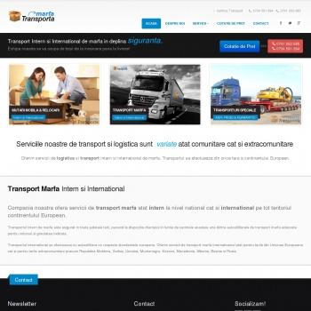 Website pentru firma SC CARGOEX SRL