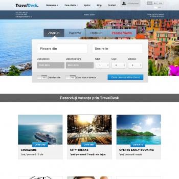 Website pentru firma TravelDesk