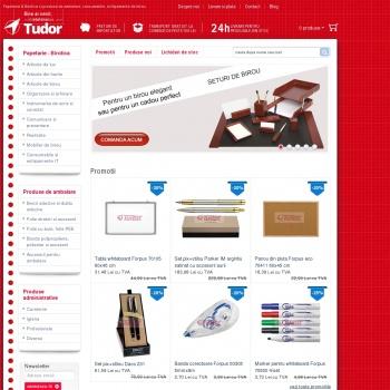 Website pentru firma Sc Tudor Srl