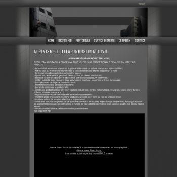 Website pentru firma sc valentin com serv srl