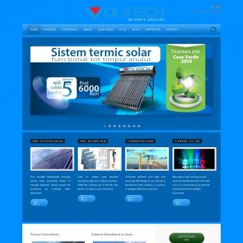 Website pentru firma SC VOLTECH ENERGY S.R.L