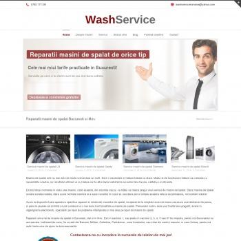 Website pentru firma WashService