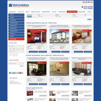 Welt Imobiliare Cluj - ofera spre vanzare sau inchiriere apartam