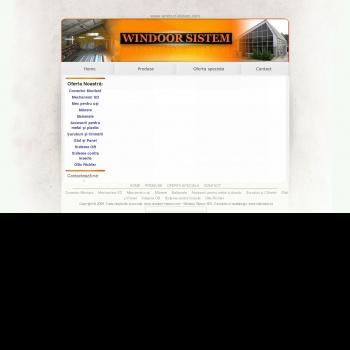 SC Windoor Sistem SRL