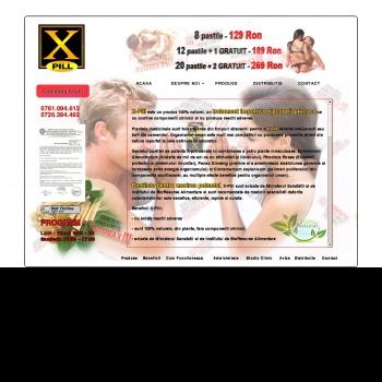 Pastile potenta X-Pill