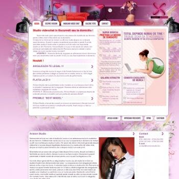 Website pentru firma SC XVISION SRL