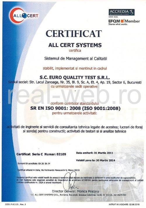 EURO QUALITY TEST - Expertiza constructii