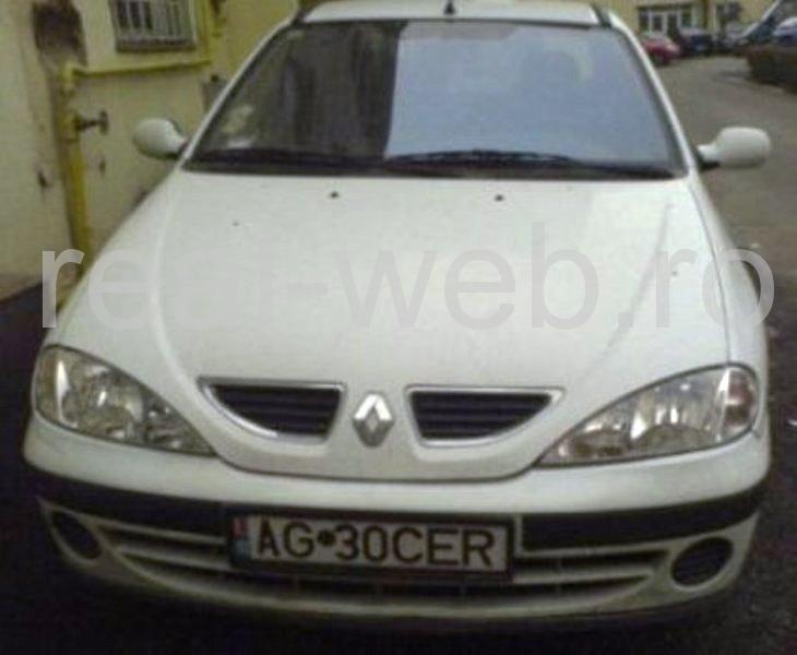 autoturism Renault Megane cu rulaj mic, 55000 km reali, primul proprietar