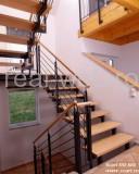 Discount - scari pe structura metalica