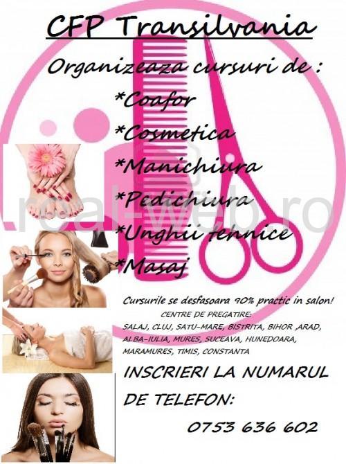 cursuri cosmetica cursuri coafor cursuri manichiura cursuri masaj